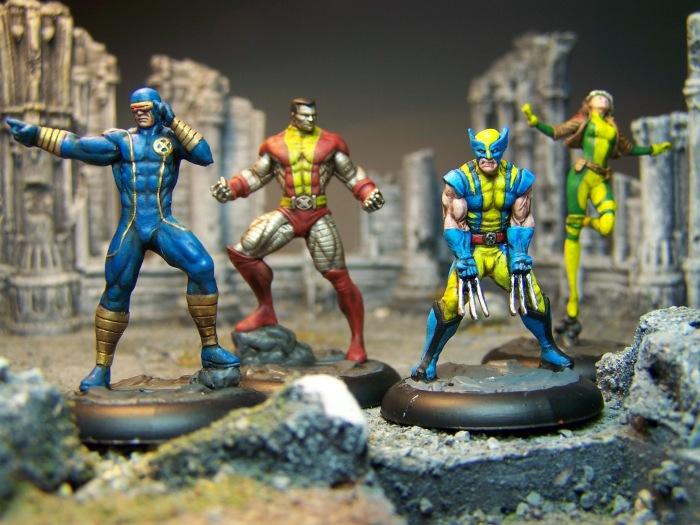 Marvel Universe Miniature Game: X-Men – Paint That Shit Up